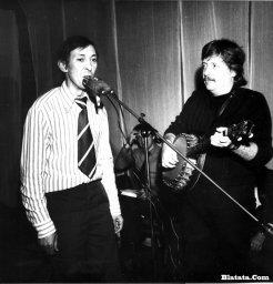 Аркадий Северный на записи концерта Проводы 1977 года 13