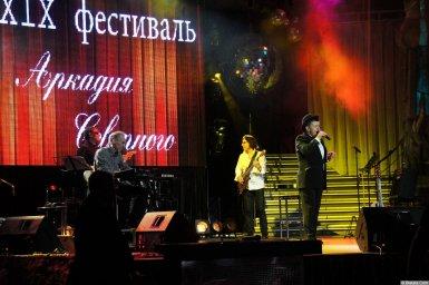 Евгений Любимцев на сцене XIX фестиваля памяти Аркадия Северного 4