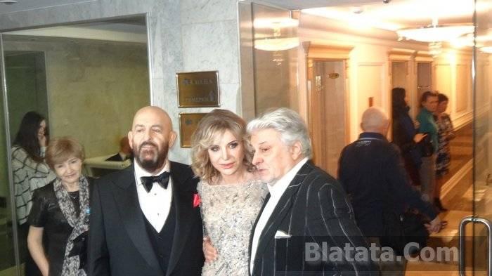Михаил Шуфутинский, Катерина Голицына, Вячеслав Добрынин