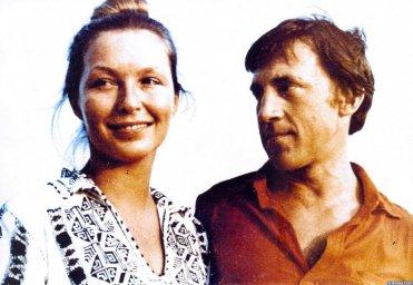 Марина Влади с Высоцким