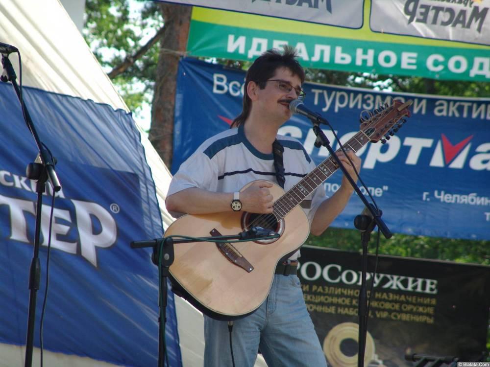 Виктор Третьяков на сцене Ильменки 2006