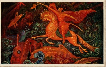С 23 февраля советская открытка 10