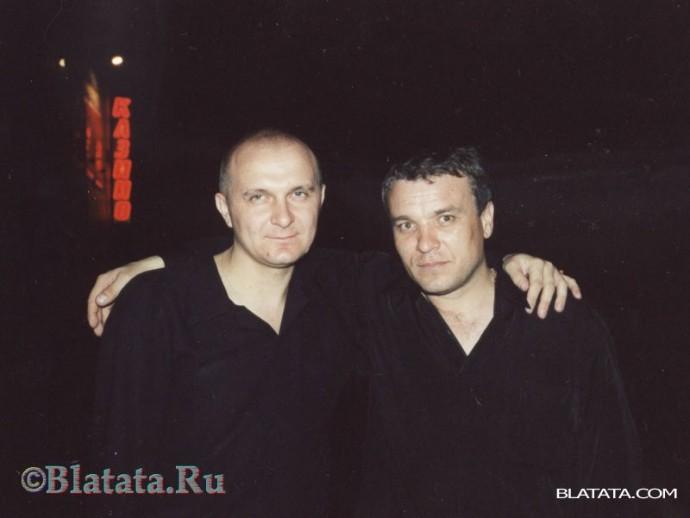 Александр Дюмин в Красноярске с другом