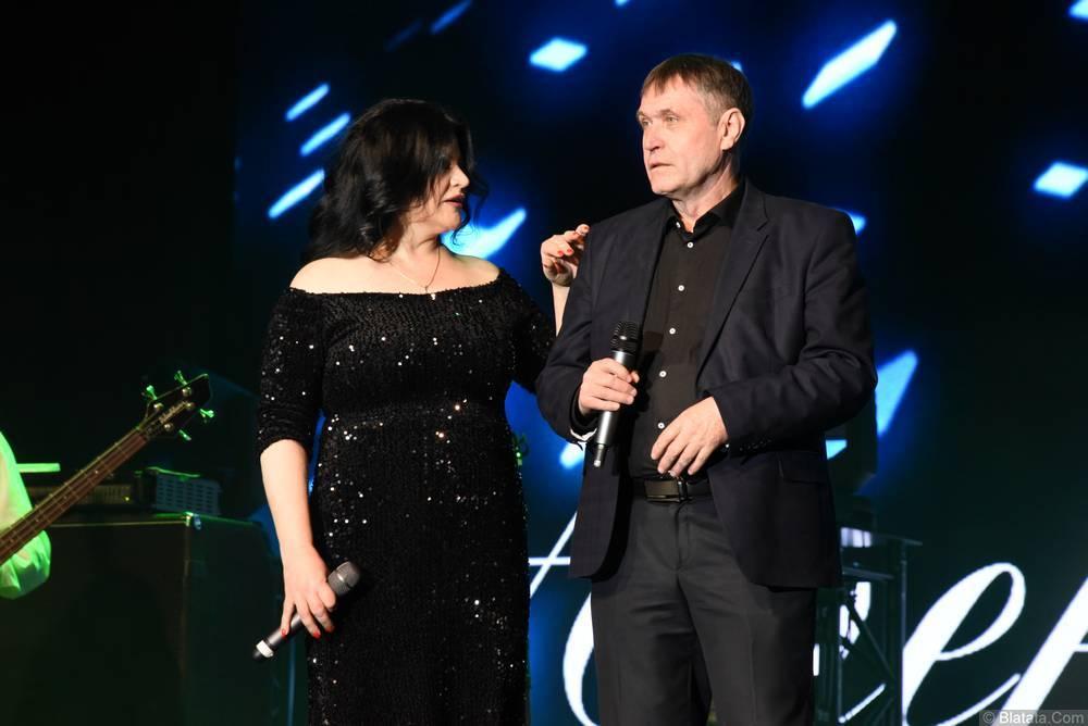 Николай Котрин и Наташа Державная на фестивале шансона