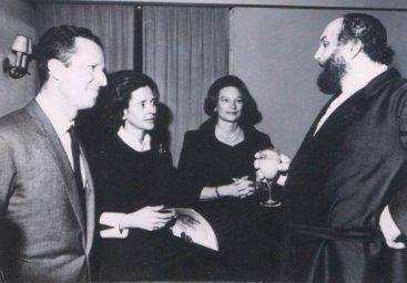 Ivan Rebroff с бельгийской королевской семьей