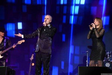 Иосиф Гамрекели на сцене фестиваля в Санкт-Петербурге