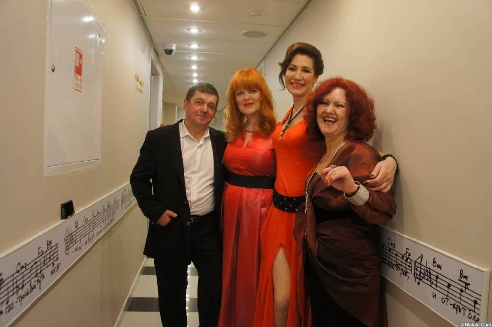 Ирина Каспер, Евгений Любимцев на XX-м фестивале памяти Аркадия Северного 12 апреля 2015 г.