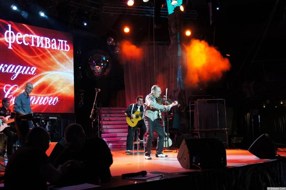 Алексей Дулькевич на сцене XIX фестиваля памяти Аркадия Северного 6