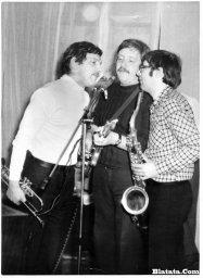 Аркадий Северный на записи концерта Проводы 1977 года 14