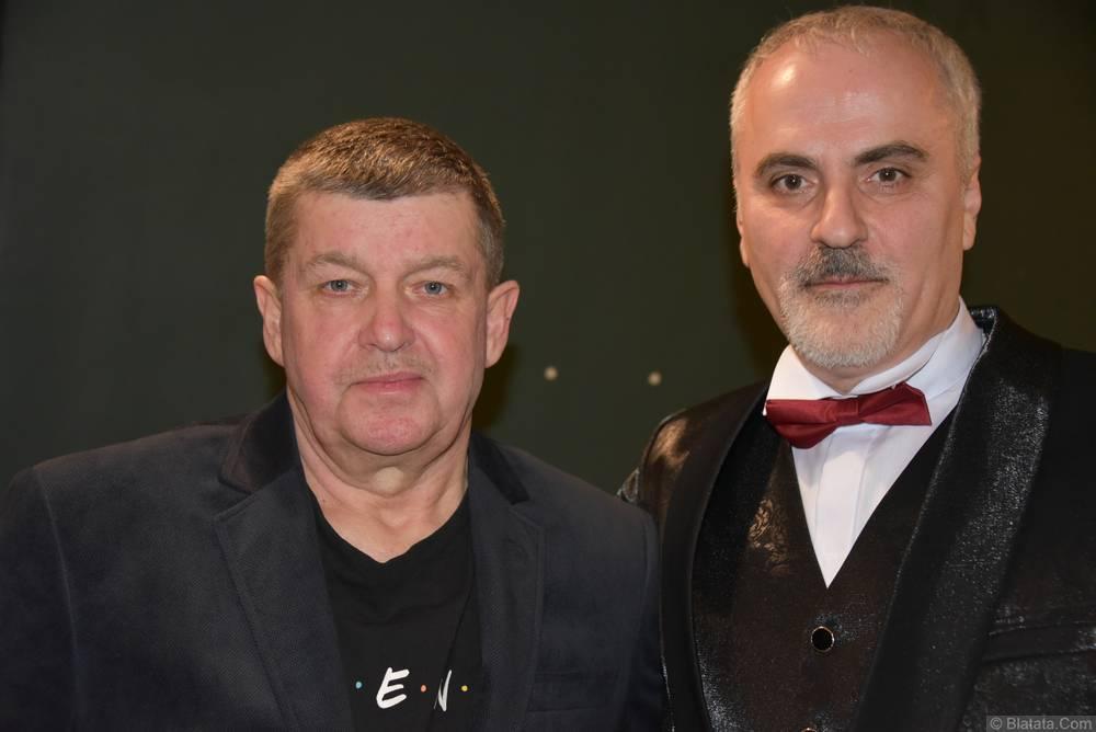 Иосиф Гамрекели и Евгений Любимцев на втором фестивале шансона имени Александра Фрумина