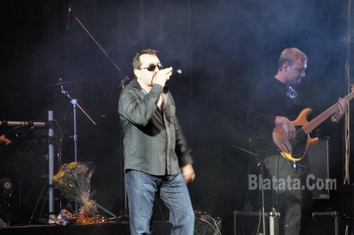 """Концерт группы """"Бутырка"""" в Калининграде. Владимир Ждамиров на сцене 3"""