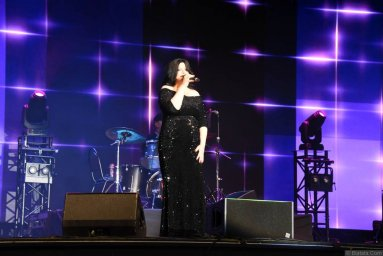 Наташа Державная на фестивале шансона имени Александра Фрумина