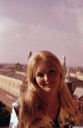 Марина Влади в Москве 2
