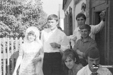 Свадьба в деревне в СССР