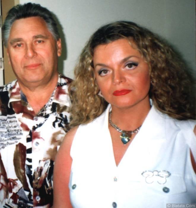Генрих Сечкин с Ларисой Долиной