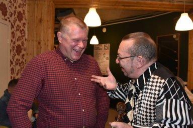 Алексей Дулькевич на фестивале памяти Аркадия Северного 2019 с Михаилом Дюковым