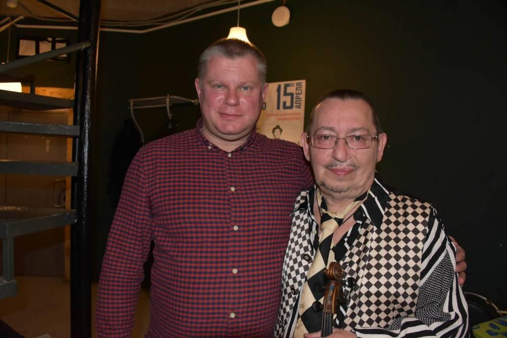 Алексей Дулькевич и Михаил Дюков на фестивале памяти Аркадия Северного 2019