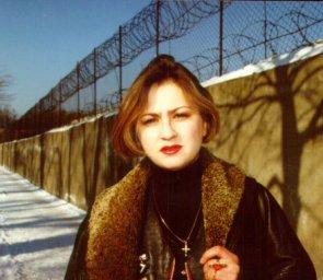 Катенька Дроздовская, рабочее фото для обложки альбома