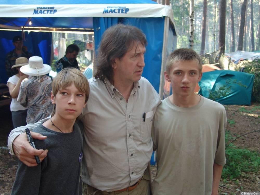 Олег Митяев с молодежью