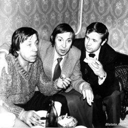 """Аркадий Северный на записи альбома с ансамблем """"Трезвость"""" в 1980 году 11"""
