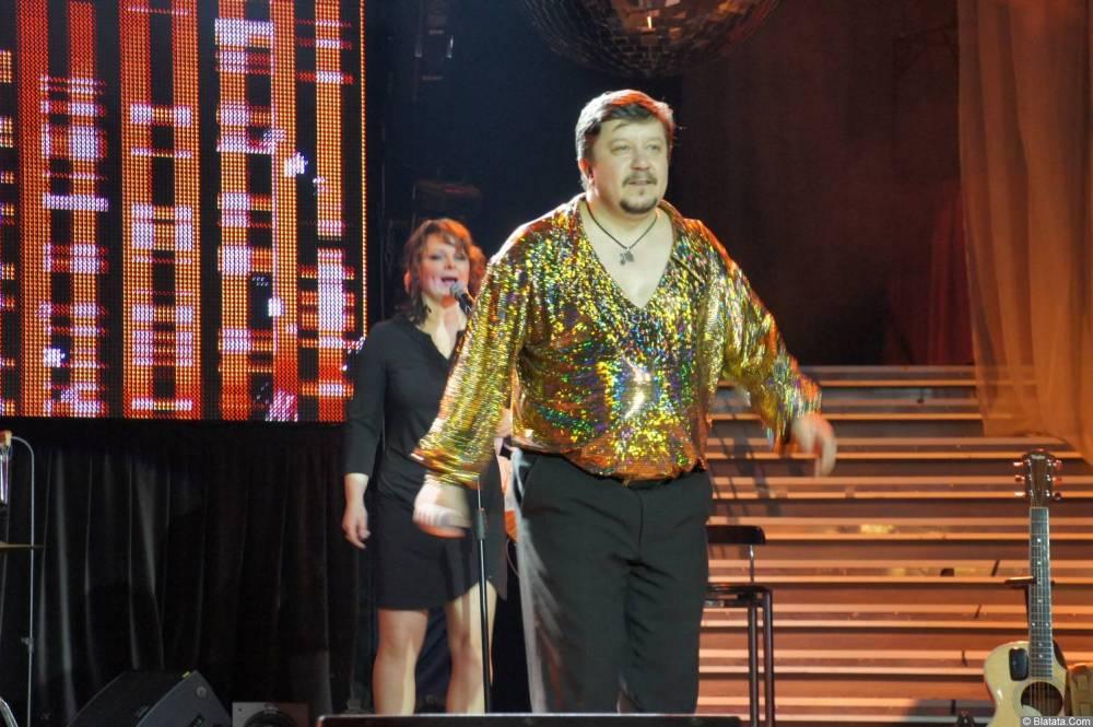 Владимир Стольный на сцене XIX фестиваля памяти Аркадия Северного 3