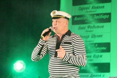 Саша Адмирал 13-14 декабря 2008 года на фестивале Хорошая песня 9