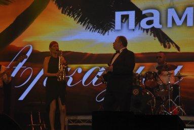Олег Заикин на 24-м фестивале памяти Аркадия Северного 24