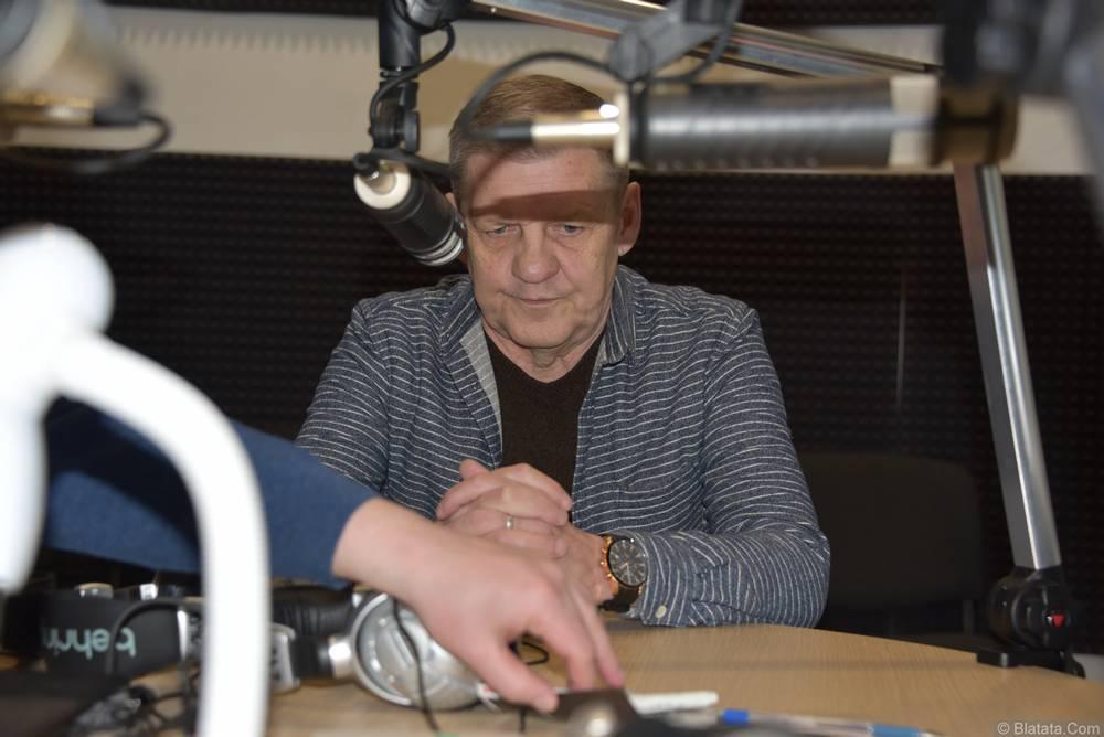 Валерий Волошин, группа Пятилетка в студии в Калининграде