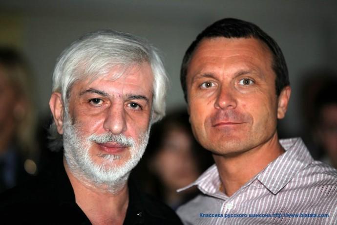 Ефрем Амирамов вдвоем