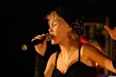 Юлия Андреева 13-14 декабря 2008 года на фестивале Хорошая песня 7