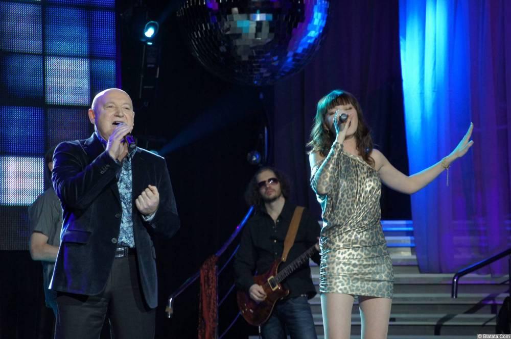 Аркадий Соловейчик дуэтом на концерте 2013 года