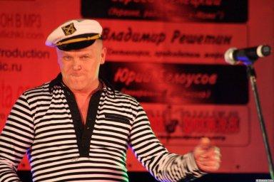 Саша Адмирал 13-14 декабря 2008 года на фестивале Хорошая песня 4