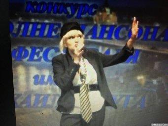 Елена Горбачева. Выступление на фестивале шансона имени Михаила Круга в Твери