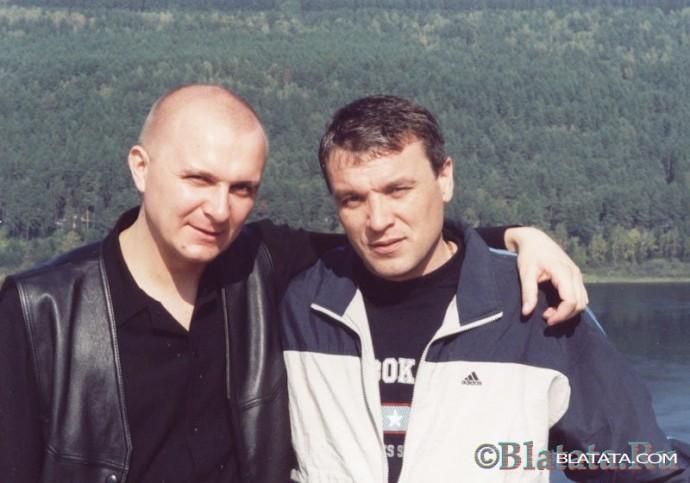 Александр Дюмин с другом и поклонником творчества