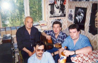 Александр Волокитин, Михаил Шелег, Стас Ерусланов, А. Попов 5
