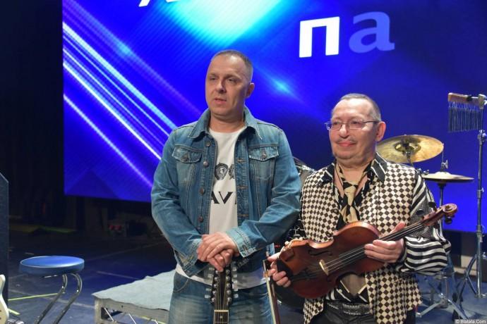 Павел Берденников и Алексей Дулькевич на 24-м фестивале памяти Аркадия Северного 3
