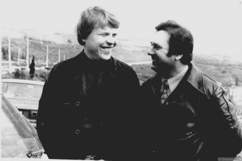Генрих Сечкин с Михаилом Кокшеновым
