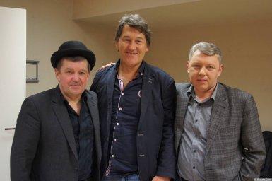Владимир Черняков и Евгений Любимцев на концерте Новое и лучшее 17 февраля 2015 года