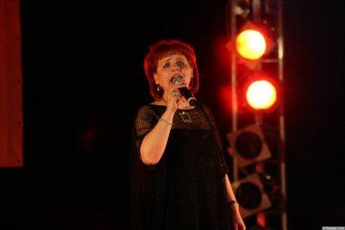 Ляля Рублёва 13 декабря 2008 года на фестивале Хорошая песня 5