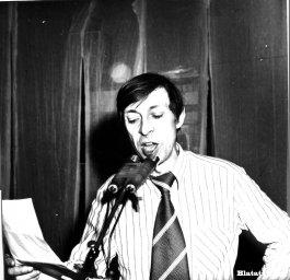 Аркадий Северный на записи концерта Проводы 1977 года 18