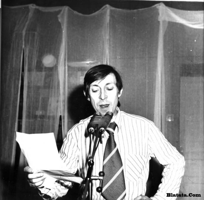 Аркадий Северный на записи концерта Проводы 1977 года 23