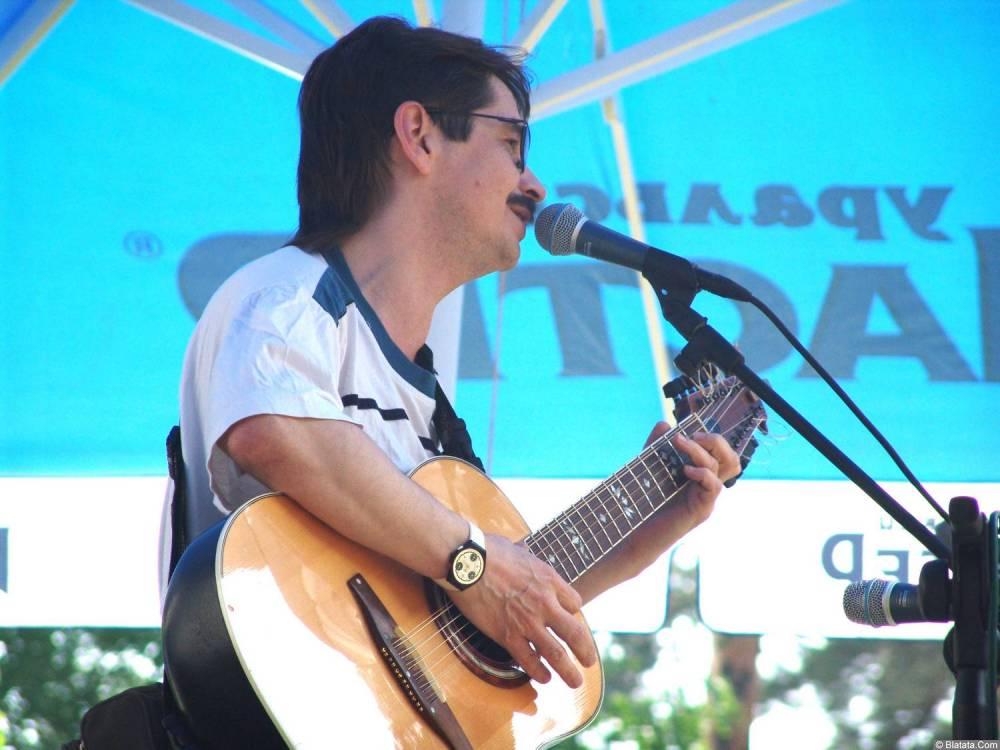 Виктор Третьяков на сцене Ильменского фестиваля