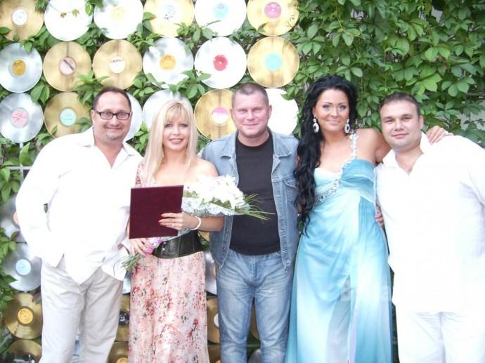 Вася Пряников, Ольга Стельмах, Оксана Билера и Николай Озеров