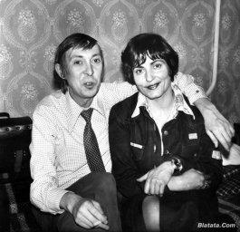 """Аркадий Северный на записи альбома с ансамблем """"Трезвость"""" в 1980 году 3"""