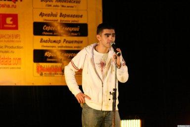 Гога (Артур Гога) 13 декабря 2008 года на фестивале Хорошая песня 7