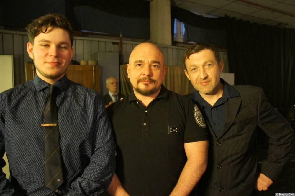 Сергей Трофимов и Аркадий Фрумин на XX-м фестивале памяти Аркадия Северного