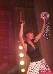 Татьяна Кабанова на сцене фестиваля шансона 10
