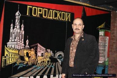 Ростислав Поспелов готовится к выходу на сцену