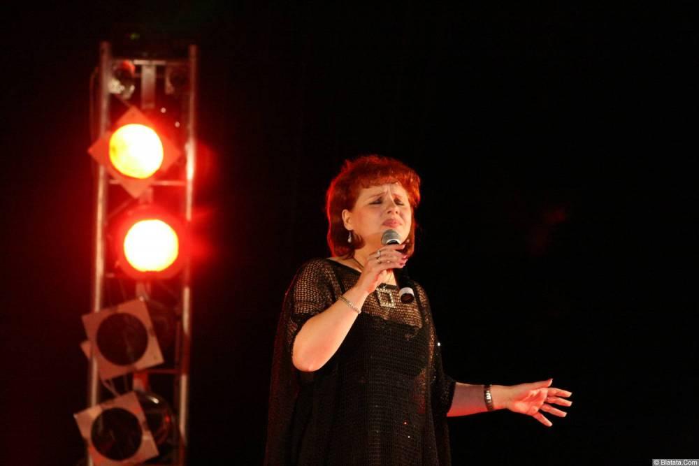 Ляля Рублёва 13 декабря 2008 года на фестивале Хорошая песня 3