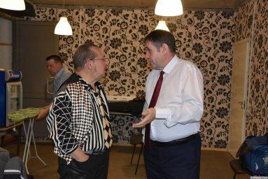 Алексей Дулькевич на съемках 18 ноября 2019 года 2